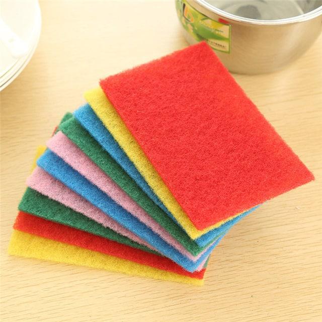 كيفية تنظيف قماشة غسل الأطباق والاسفنجة