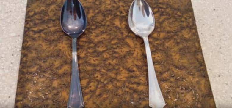 طرق تنظيف الفضة